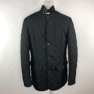 Barbour Men's Lutz Quilted Jacket Black Size XL